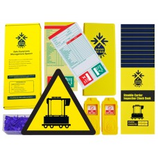 Daily Straddle Carrier Inspections Checklist Kit