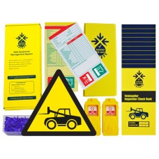 Daily Telehandler Inspection Checklist Kit