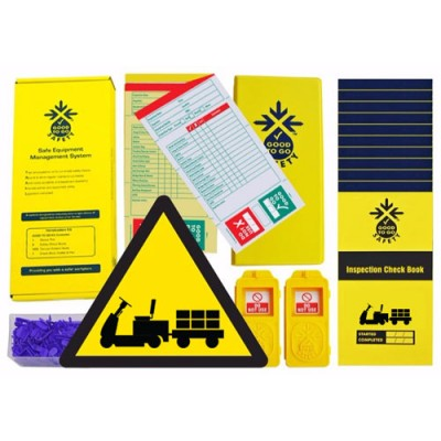 Daily Tow Tractor Inspections Checklist Kit