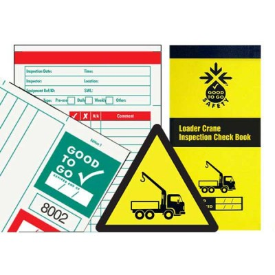 Loader Crane Inspections Checklist