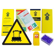 Weekly Straddle Carrier Inspections Checklist Kit