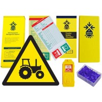 Weekly Tractor Inspections Checklist Kit