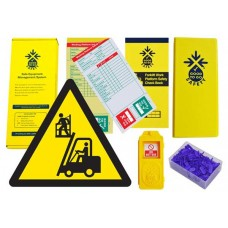 Weekly Forklift Work Platform Inspections Checklist Kit