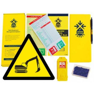 Weekly Excavator Inspections Checklist Kit