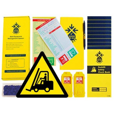 Daily Forklift Inspections Checklist Kit