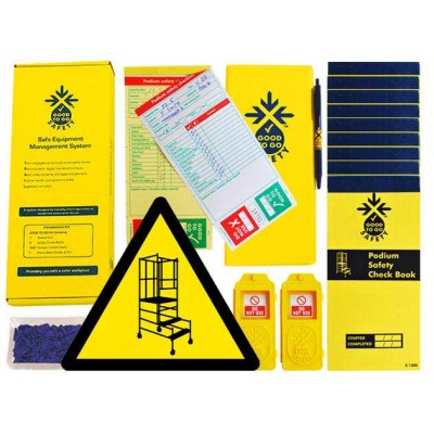 Daily Podium Step Inspections Checklist Kit