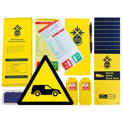 Daily Vehicle Inspections Checklist Kit