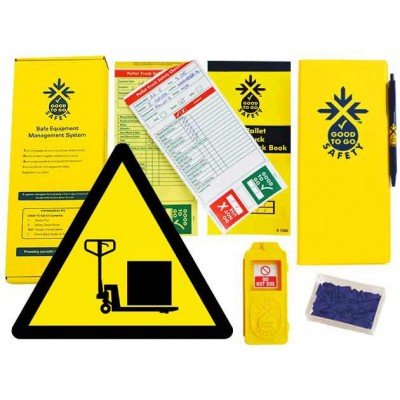 Weekly Pallet Truck Inspections Checklist Kit