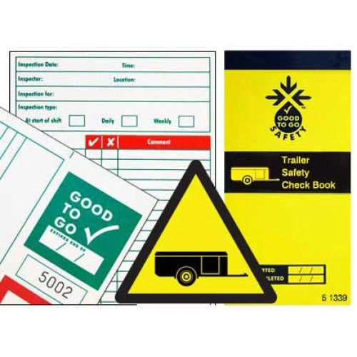 Tractor Tow Check List : Trailer inspections checklists