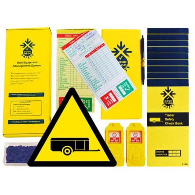 Daily Trailer Inspections Checklist Kit