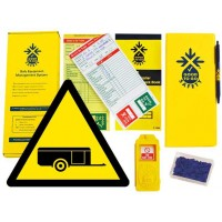 Weekly Trailer Inspections Checklist Kit