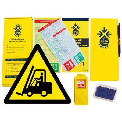 Weekly Forklift Inspections Checklist Kit