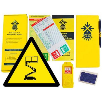 Weekly MEWP Inspections Checklist Kit