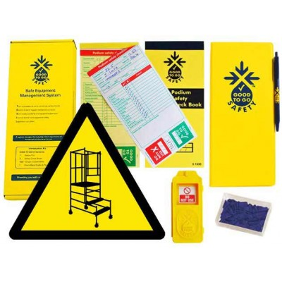 Weekly Podium Steps Inspections Checklist Kit